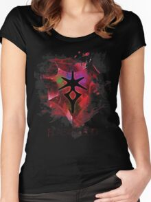 Are you afraid of the Dark? Women's Fitted Scoop T-Shirt