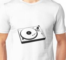DJ Turntable Unisex T-Shirt