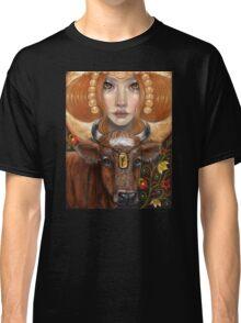 Fehu rune maiden Classic T-Shirt