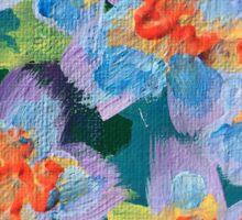 Flower Series 3: Inner Power Paintings Sticker