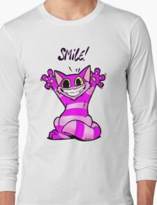 Insane Kitten, Smile! Long Sleeve T-Shirt