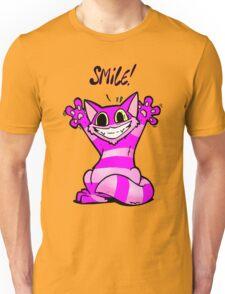 Insane Kitten, Smile! Unisex T-Shirt
