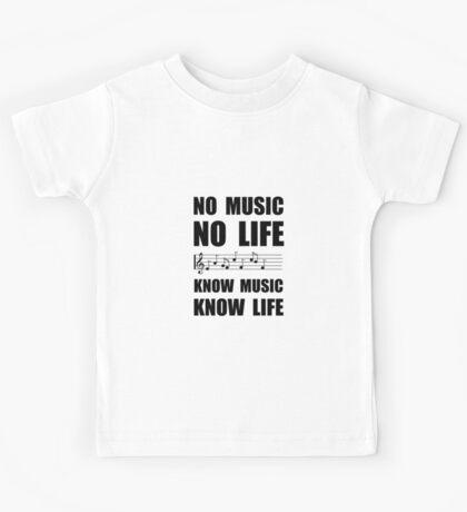 Know Music Know Life Kids Tee