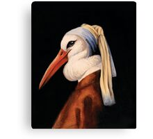 Bird with No Earring Canvas Print