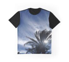 Palm Springs Winter Sky Graphic T-Shirt