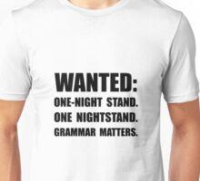 Nightstand Grammar Unisex T-Shirt