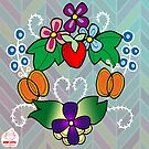 Old/ new style ojibwe floral 2016 by mylittlenative
