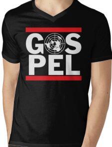 Flat Earth Gospel Truth Mens V-Neck T-Shirt