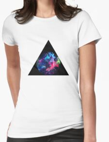 Triangle Art by RighteousOnix Womens Fitted T-Shirt