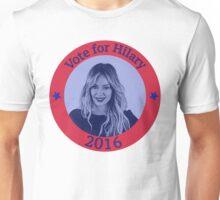 Vote For Hilary Unisex T-Shirt