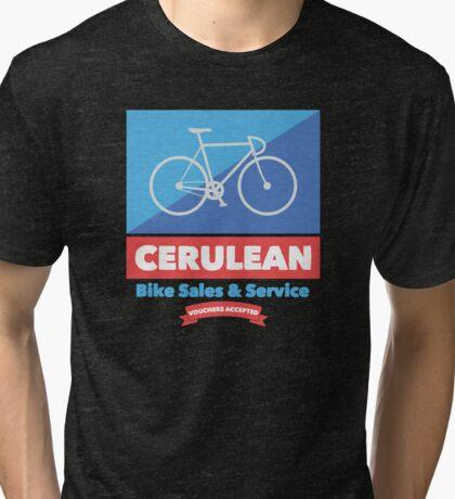 Cerulean Bike Sales & Service  Tri-blend T-Shirt