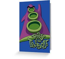 Day of the Tentacle Greeting Card