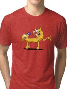 CATDOG Tri-blend T-Shirt