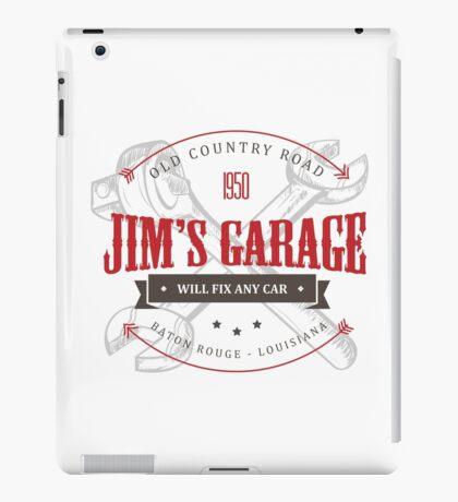 Jim's Garage iPad Case/Skin