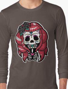 Sugar Sugar Skull Long Sleeve T-Shirt