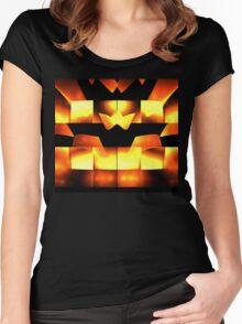 Orange Crown Women's Fitted Scoop T-Shirt