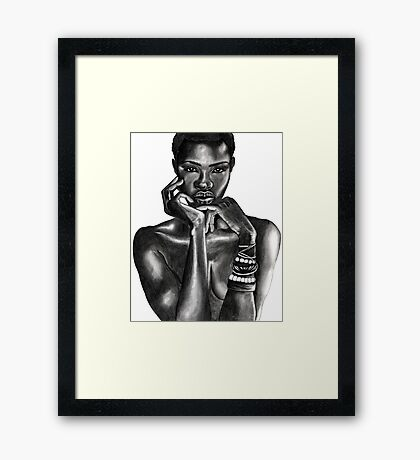 Ajuma - The Beauty Collection Framed Print