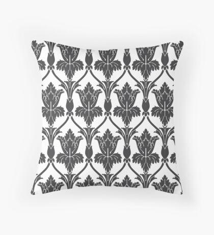 Sherlock Wallpaper Pattern Throw Pillow