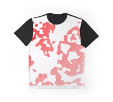 Red Scale Splotches Graphic T-Shirt