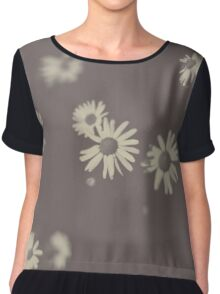 They Go Silent Chiffon Top