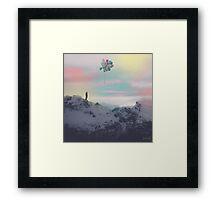 let go Framed Print