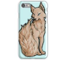 Orange Flame-Tail Wolf iPhone Case/Skin