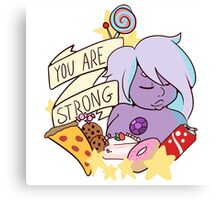 You Are Strong Canvas Print