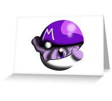 Masterball Mewtwo Greeting Card