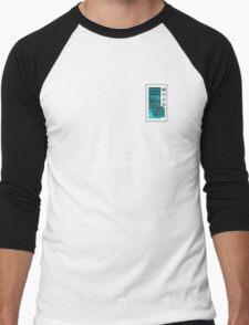 Vaporwave Men's Baseball ¾ T-Shirt