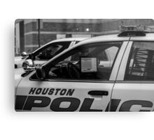 Houston police Metal Print
