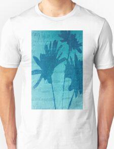 Aqua Blue Autumn  Unisex T-Shirt
