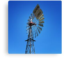 Southern cross windmill Canvas Print