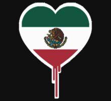 MEXICAN BLEEDING HEART One Piece - Long Sleeve