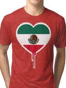 MEXICAN BLEEDING HEART Tri-blend T-Shirt
