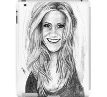 Jen Aniston Drawing iPad Case/Skin