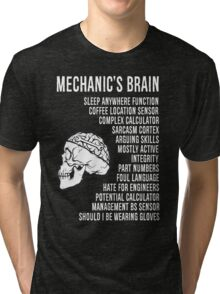 Mechanic's Funny Tri-blend T-Shirt