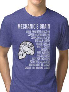Mechanic's Funny Tri-blend T-Shirt