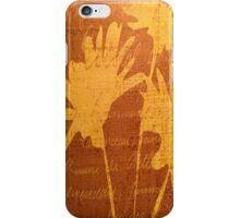 Autumn Sunset Flowers iPhone Case/Skin
