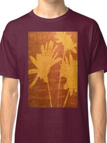 Autumn Sunset Flowers Classic T-Shirt