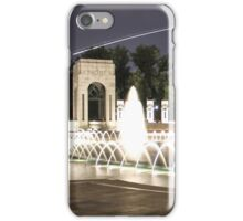 WWII Memorial Washington DC iPhone Case/Skin