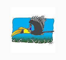 Hornbill rider Unisex T-Shirt