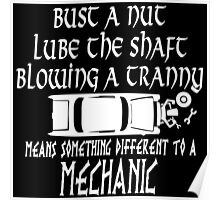 Mechanic Funny Poster