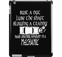 Mechanic Funny iPad Case/Skin