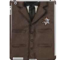 Sheriff Vest iPad Case/Skin