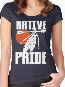 NATIVE PRIDE (ALT) Women's Fitted Scoop T-Shirt