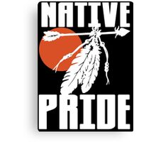 NATIVE PRIDE (ALT) Canvas Print