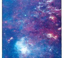Tardis Galaxy Sticker