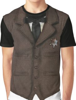 Sheriff Vest Graphic T-Shirt