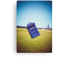 The Tardis Is Landing in Puerto Rico Canvas Print