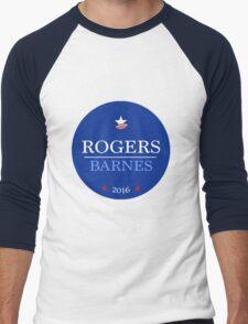 Campaign Button Men's Baseball ¾ T-Shirt